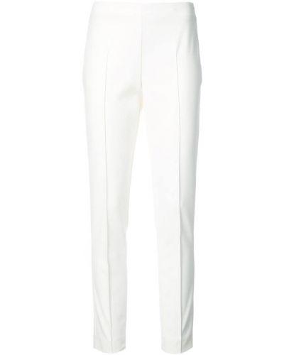 Белые брюки прямые Akris