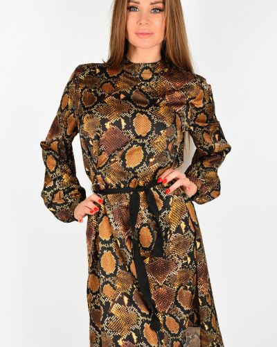 Коричневое платье Aaa