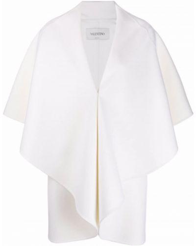 Narzutka wełniana - biała Valentino