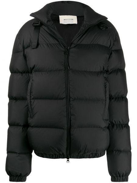 Черная длинная куртка круглая 1017 Alyx 9sm