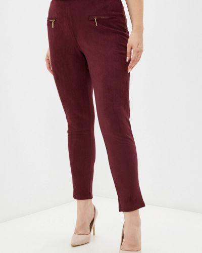 Бордовые зимние брюки Prewoman