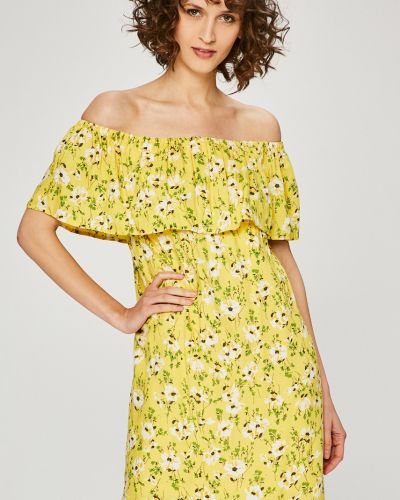 Платье мини прямое с оборками Vero Moda