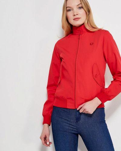 Красная куртка весенняя Fred Perry