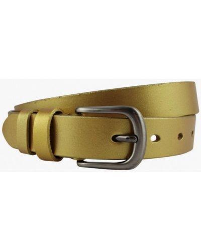 Ремень золотой Stilmark