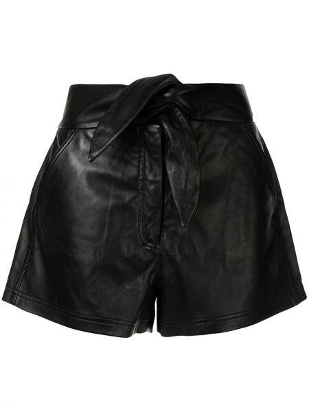 Шорты черные с карманами Alc