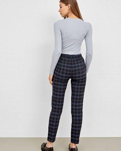 Прямые брюки - серые Mark Formelle