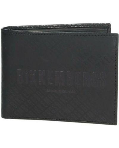 Czarny portfel Bikkembergs