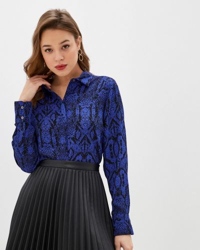 Синяя с рукавами блузка Marks & Spencer