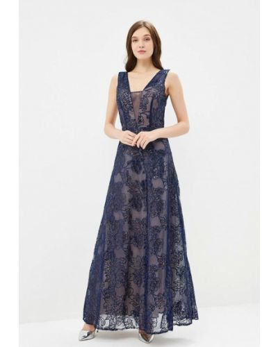 Вечернее платье синее X'zotic