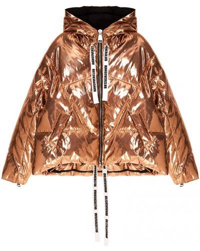 Зимняя куртка с капюшоном оверсайз Khrisjoy