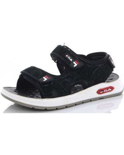 Черные сандалии канарейка