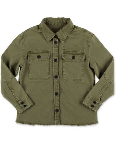 Zielona koszula bawełniana Zadig & Voltaire