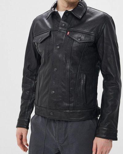 Кожаная куртка черная Levi's®