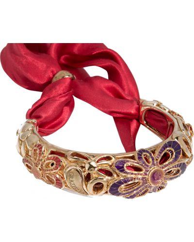 Серебряный браслет позолоченный золотой Graziella