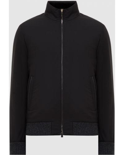 Куртка - черная Enrico Mandelli