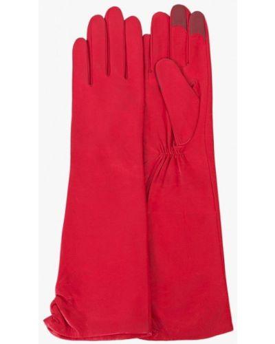 Красные кожаные перчатки Michel Katana