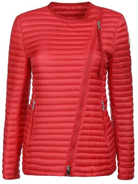 Утепленная куртка стеганая на молнии Moncler