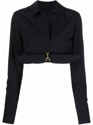 Klasyczna koszula - czarna Jacquemus