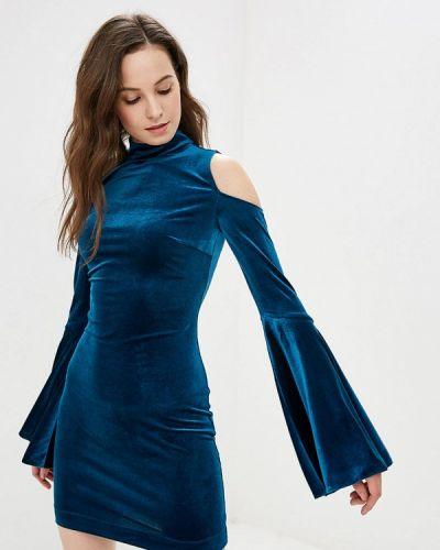 Вечернее платье бирюзовый весеннее Gepur