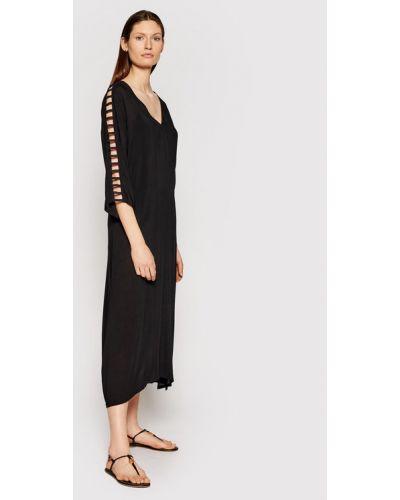 Sukienka plażowa - czarna Chantelle