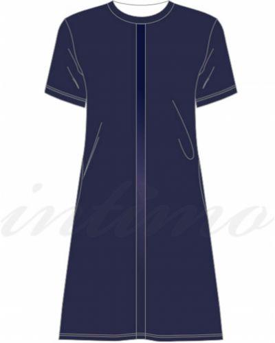 Велюровое платье - черное Anabel Arto
