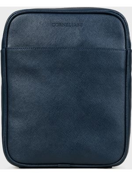 Кожаная сумка - синяя Corneliani