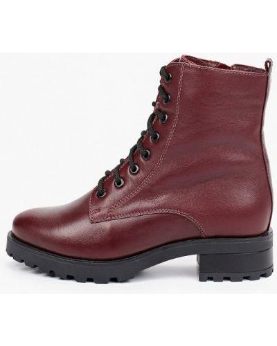 Бордовые демисезонные ботинки Francesco Donni
