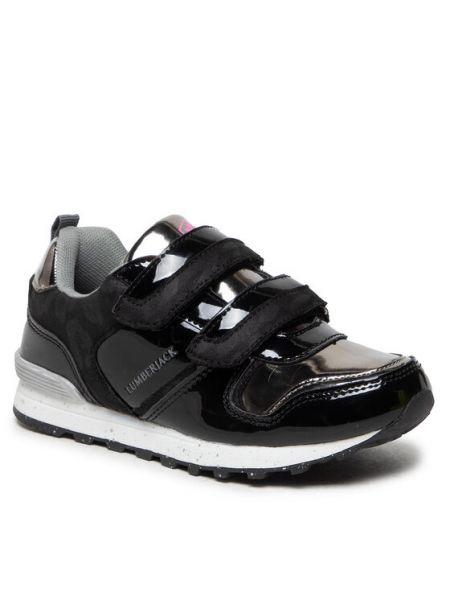 Czarne sneakersy Lumberjack