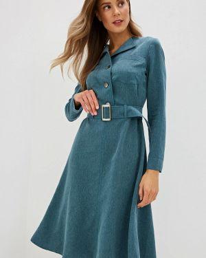 Платье - зеленое Gregory