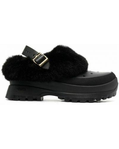 Czarne sandały Stella Mccartney