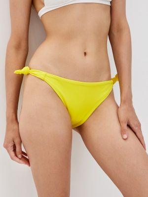 Желтые плавки с завязками Phax