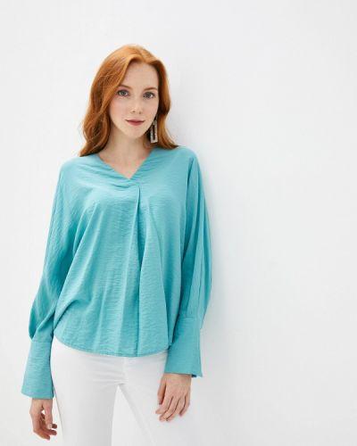 Блузка с длинным рукавом бирюзовая Sela