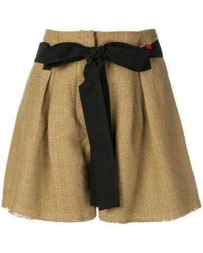 Однобортные шорты с карманами Giacobino