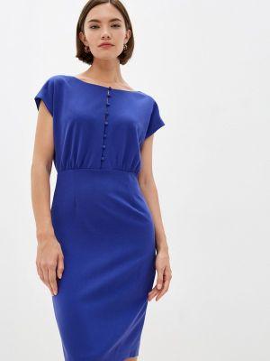 Платье футляр - синее French Connection