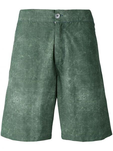 Zielone spodenki do pływania Fashion Clinic Timeless