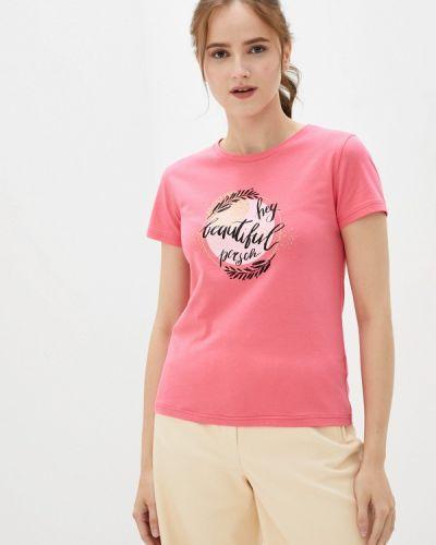 Розовая весенняя футболка D.s