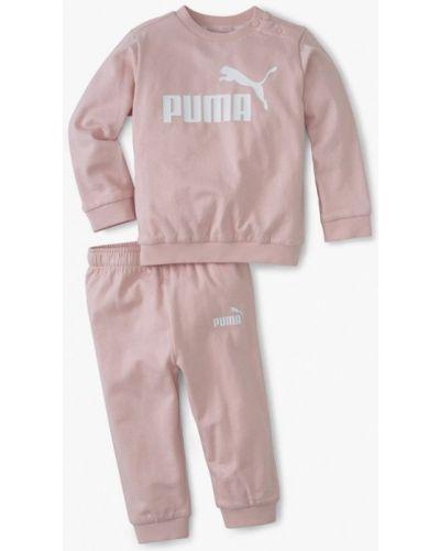 Костюмный розовый спортивный костюм Puma