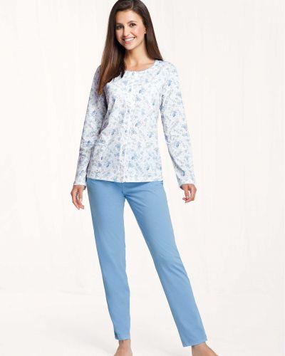 Bawełna piżama piżama z długimi rękawami Luna