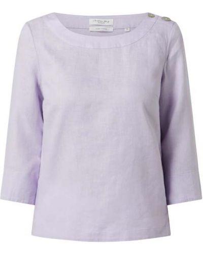 Fioletowa bluzka zapinane na guziki Christian Berg Women