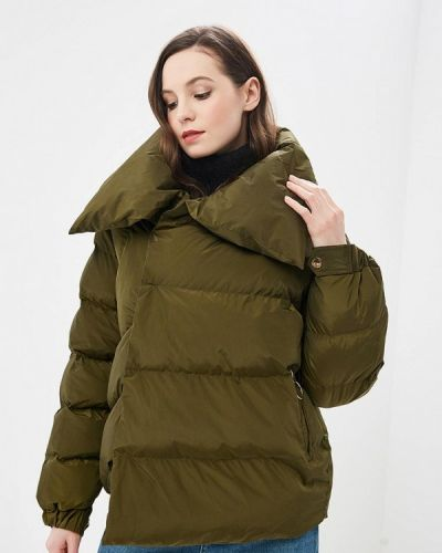 Утепленная куртка весенняя зеленая Papermint