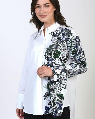 Хлопковая блузка Marc Cain