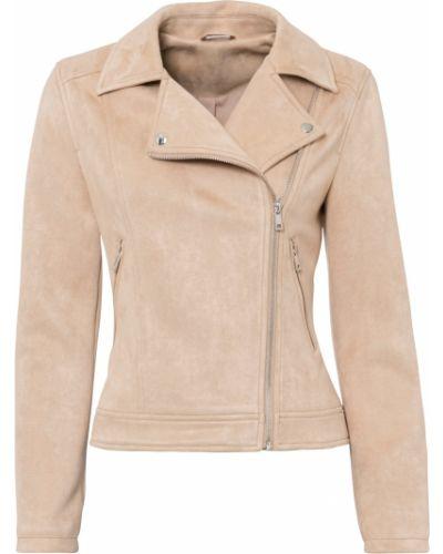 Замшевая куртка - бежевая Bonprix