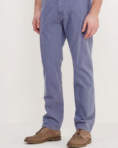 Синие брюки чиносы Tom Tailor