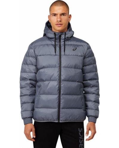 Пуховая куртка - серая Asics