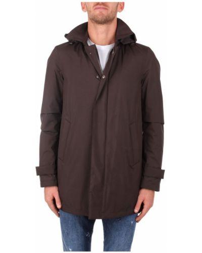 Płaszcz z kapturem od płaszcza przeciwdeszczowego Herno