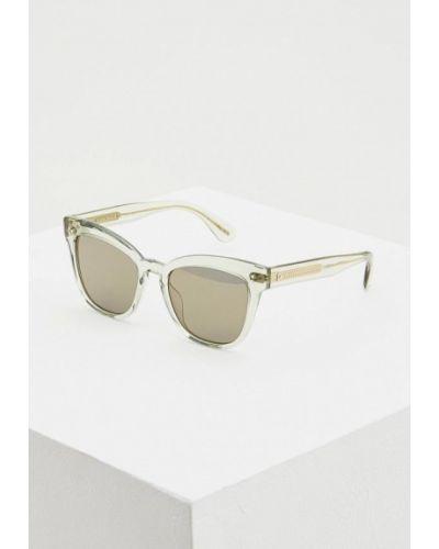 Солнцезащитные очки 2019 прямоугольные Oliver Peoples