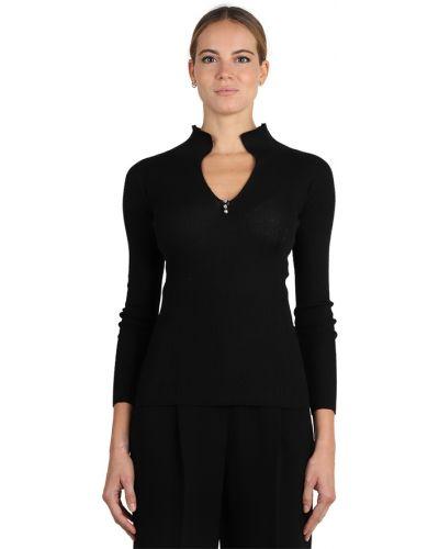 Czarny sweter Lanvin