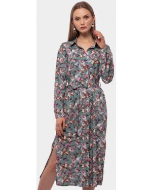Платье платье-рубашка осеннее Vladi Collection