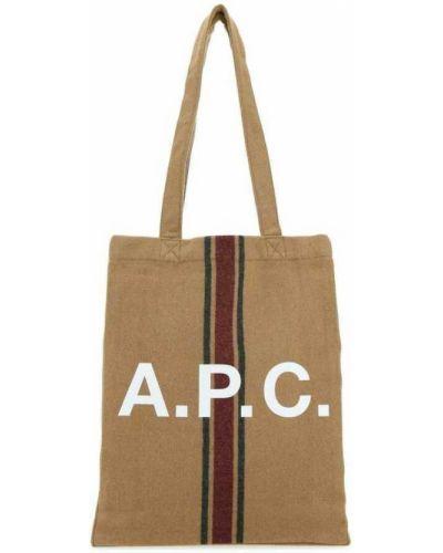 Brązowa torba A.p.c.
