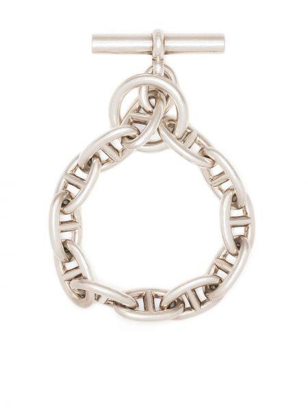 Bransoletka srebrna Hermes